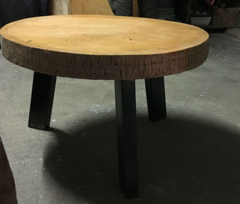 4 pieds de table acier inclin s de style industriel pour - Table design acier ...