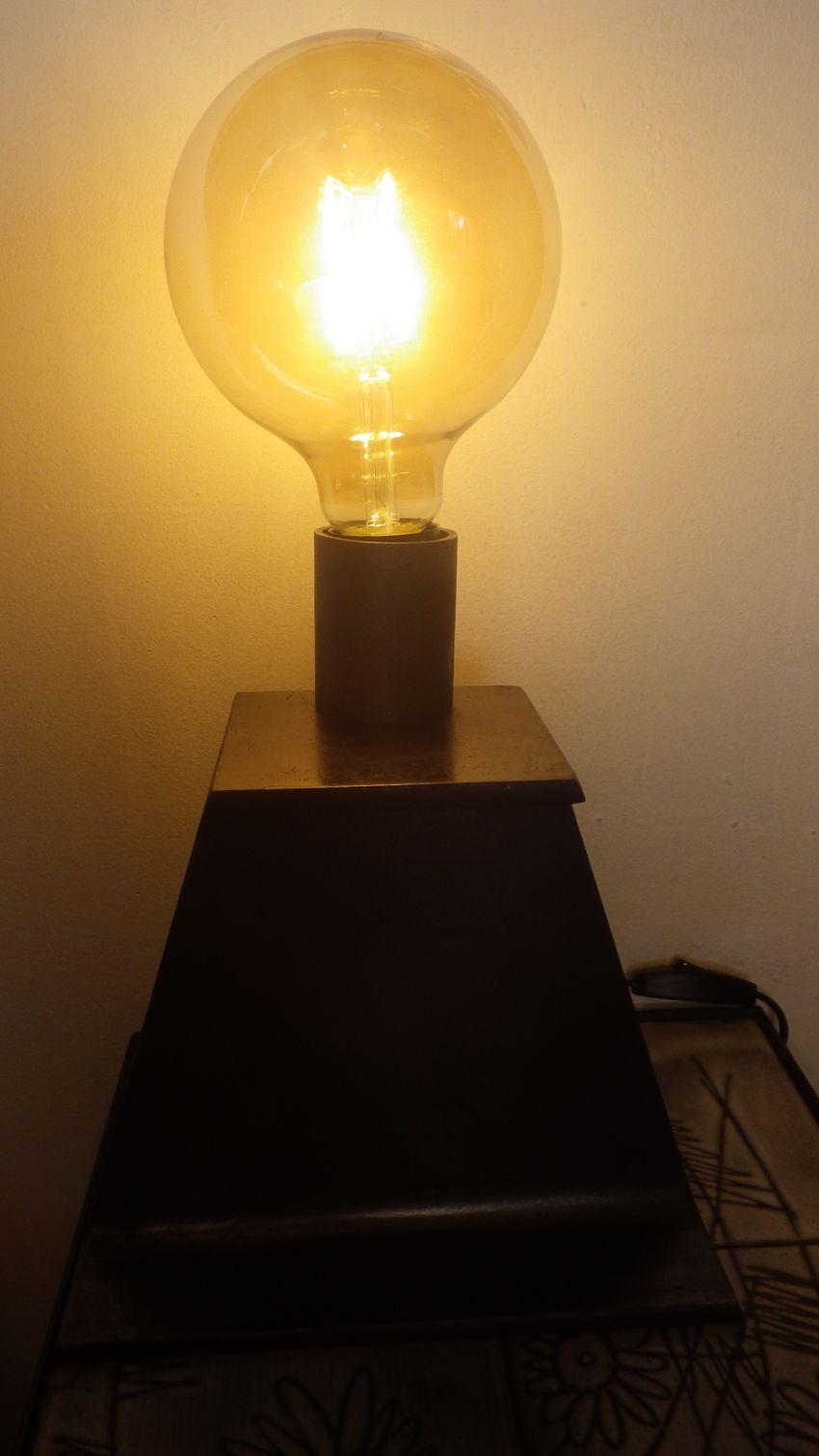 Lampe poser en acier ipn luminaire de style industriel loft - Lampe industrielle a poser ...