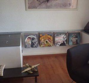 supports disques vinyles DESIGN ACIER