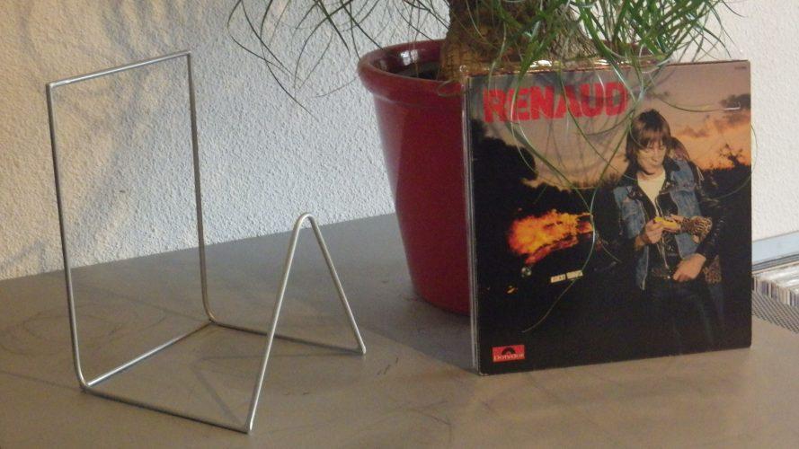 Rack Acier Dédié Au Rangement De 50 Disques Vinyles