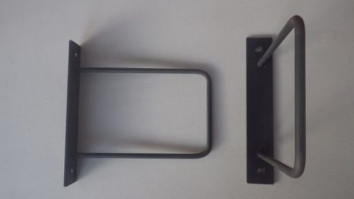 2 supports acier étagère originale DIY DESIGN ACIER