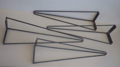 4 jambes épingle design acier