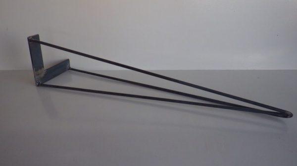 4 jambes acier en épingle DESIGN ACIER