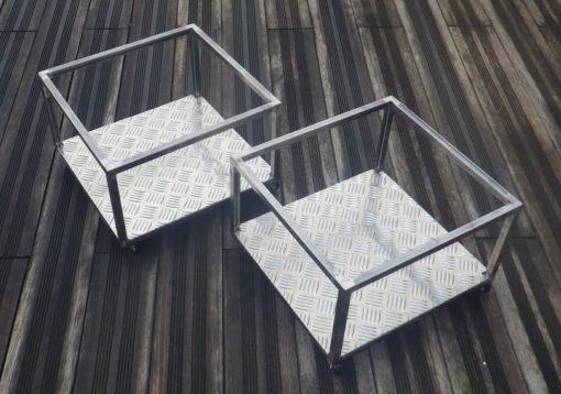 Caisson metal rangement artisanat designacier.com