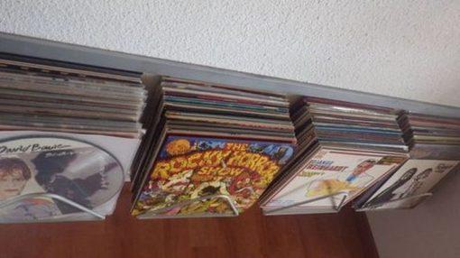 Supports muraux disques vinyles designacier.com