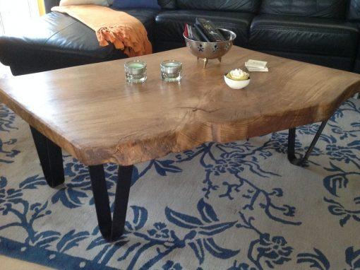 Pieds épingle table basse Design acier