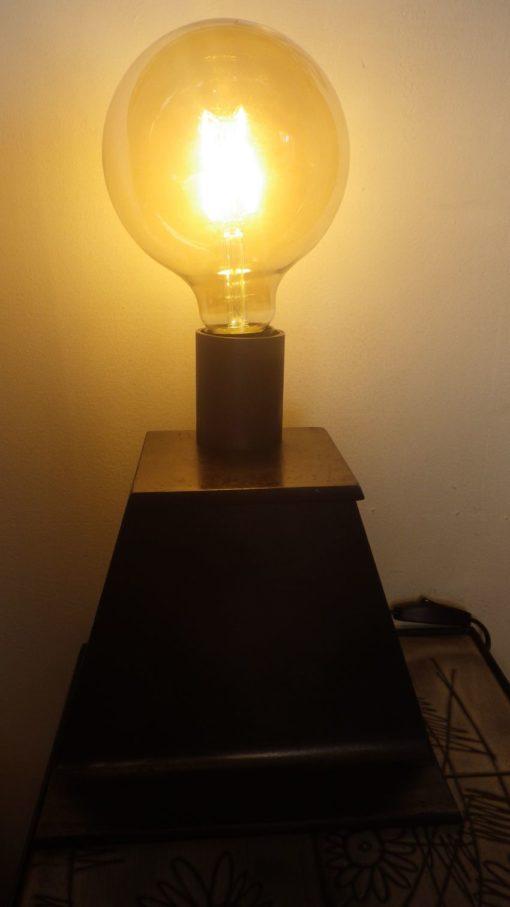 Lampe industrielle Design Acier