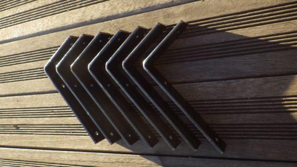 Supports patinés 10x20 design acier
