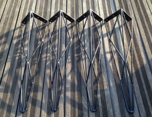 4 jambes épingle style eiffel Design Acier