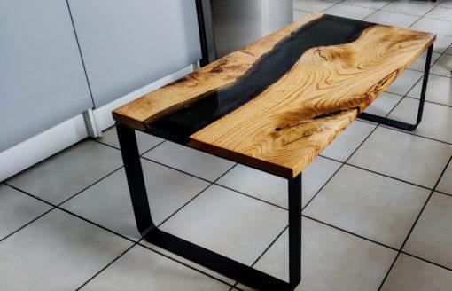 Pieds cintrés table basse Création Bastien
